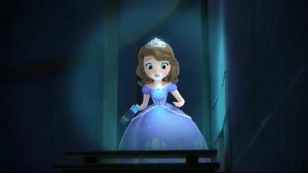 小公主苏菲亚:苏菲亚用护身符把自己变小,然后进入了走廊