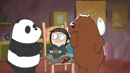 咱们裸熊:克洛伊出场,当代天才跳级孤独大学生,作报告做到熊窝了