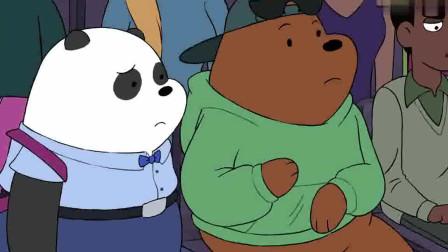 咱们裸熊:做研究报告的克洛伊,可以得出一个有意思的成果,熊熊们可爱又自恋