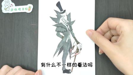 第五人格里最恐怖的角色是谁?杰克算一个吗?手绘趣味简笔画