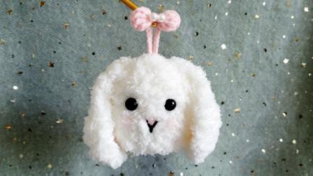 高颜值垂耳兔钥匙包,亲手组装,神仙礼物又增加了