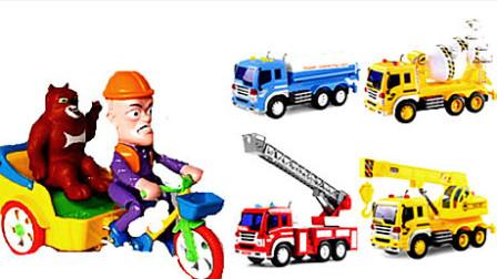 挖掘机工作视频表演大全 山顶救护车2