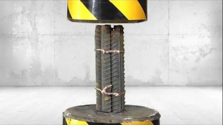 工地的钢筋质量过关吗?包工头现场测试,结果惊呆众人!