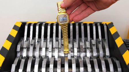 价值19000美金的金表,被儿子扔进粉碎机,结果太意外了!