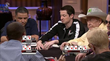 德州扑克 以色列赌神Eli 在牌桌上毒王哥拿他毫无办法