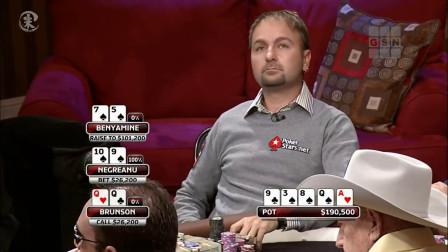 德州扑克 20万美金的底没赢下 只怪牌手想的太复杂了