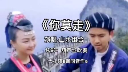 山水组合《你莫走》炫彩葫芦丝吹奏,祝大家520节日快乐!