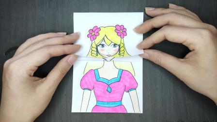见过灵公主换古装发型吗?翻开手绘纸的最后实在太可爱了叶罗丽