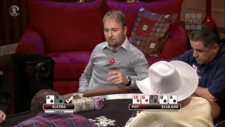 德州扑克 若不是看到最后一张牌 他永远不知道自己有多倒霉