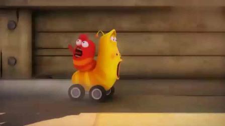 爆笑虫子:虫子们进行赛车,小黄的屁无敌了,跑的停不下来