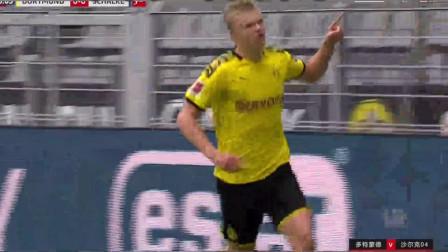 进球机器重新上线!哈兰德打入德甲回归首球