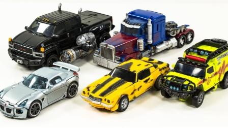 变形金刚电影1 工作室系列汽车人大黄蜂擎天柱棘轮铁皮爵士机器人玩具