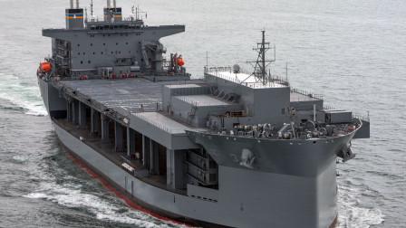 """114亿巨资建造,美军的""""海上变形金刚""""有多牛?比航母更关键"""