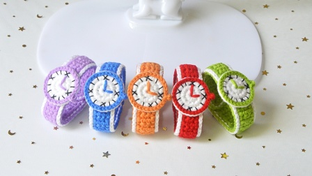 手工编织手表儿童创意玩具钩针情侣闺蜜特殊礼品