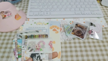 [LING]手账福袋&素材本の打包