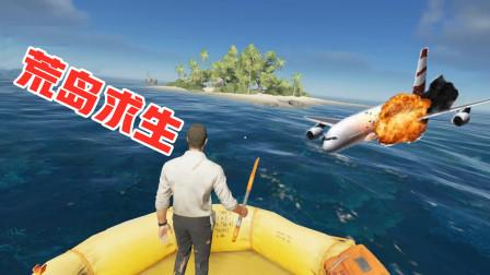荒岛求生01:包架飞机去游玩,结果却流落荒岛!