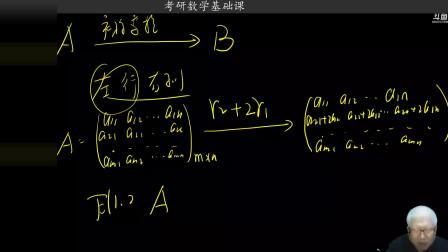 2021考研数学基础课第五十三次课第二部分,矩阵的秩相关问题详解