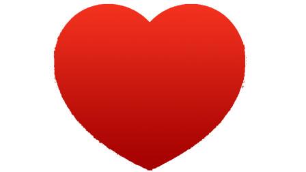 乐高大颗粒积木搭建的爱心
