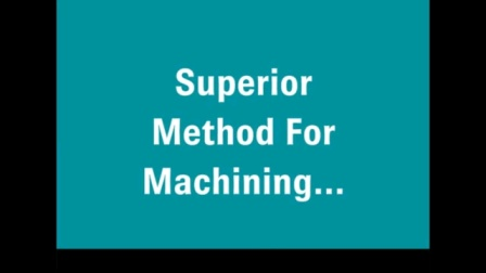 Flow Waterjet superior method for machining