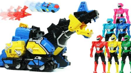 迷你力超级恐龙变形金刚总部迷你突击队超级恐龙动力基地