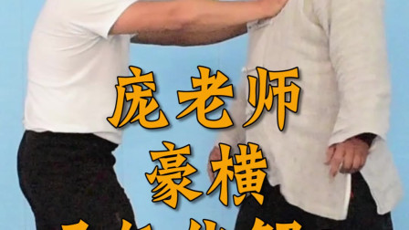 庞老师豪横讲解太极拳吸气化力