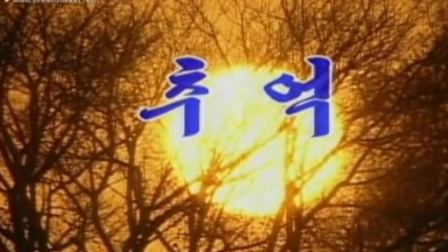 《朝鲜歌曲~回忆》高清正版好音质,优美动听的旋律,关注我,都是非常好听的歌。