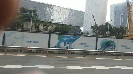 深圳地铁10号线建设中的车站