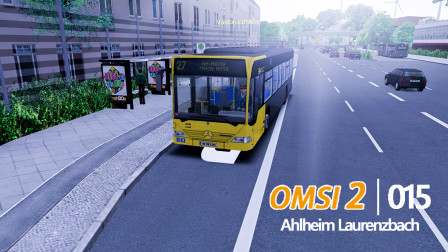 最后一次从瓦尔多利亚大街出发~omsi2巴士模拟Ahlheim Laurenzbach 27-30路