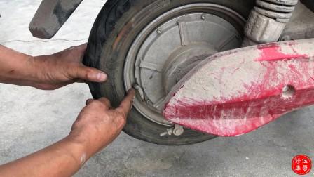 电动车真空胎,出现这种情况千万不要换!自己都能轻松搞定