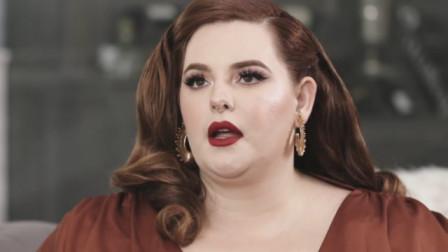 全球最胖的女模特,当她脱下外套瞬间,全场男士都沸腾了!