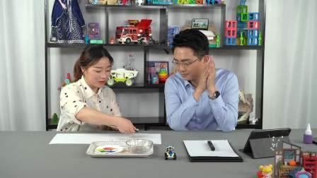 隔壁老爸教你用牙刷画画,引导孩子创造抽象思维 中国玩博会品质育儿 20200528