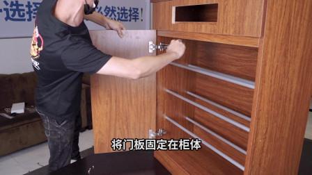 耐惠消毒鞋柜安装教程【康宝出品】
