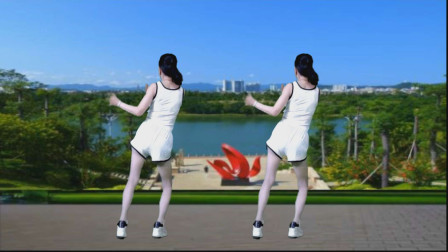 背面演示混搭风格现代舞《烟花爱情》动感旋律 潇洒自如