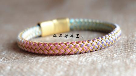 S1608-扁扣款龙鳞手绳教程(上)