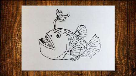 深海鱼2窦老师教画画