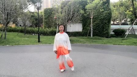 贞珍表演32式太极拳