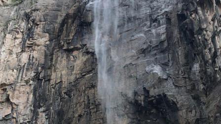 亚洲最高瀑布——云台山天瀑(314米)