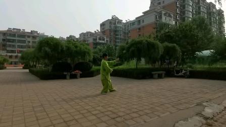 刘秀芝85势杨氏太极拳(二)