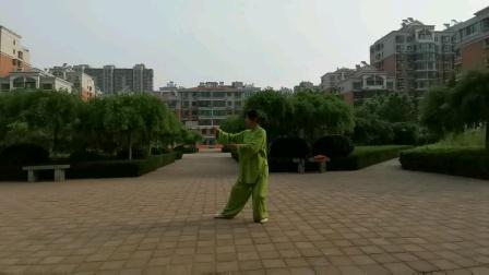 刘秀芝85势杨氏太极拳(三)