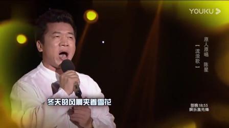 流浪歌手陈星代表作 流浪歌 唱出几代海内外游子的心声