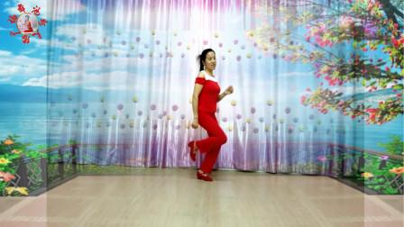 池州天缘广场舞--今生只爱你一个--天缘原创--入门舞--简单16步