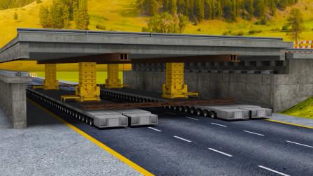 最安全的架桥机竟然是美国制造的,技术可以和中国抗衡,不愧是发达国家!