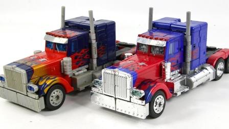 变形金刚致敬10周年独家领袖擎天柱卡车汽车机器人