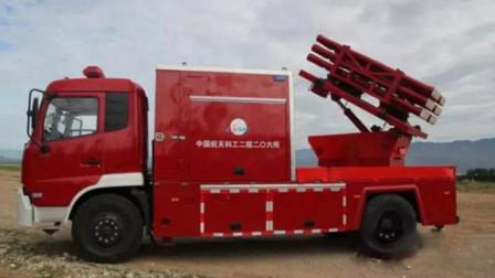 高层失火灭不掉?中国独创的消防导弹车,几百米外都能灭火