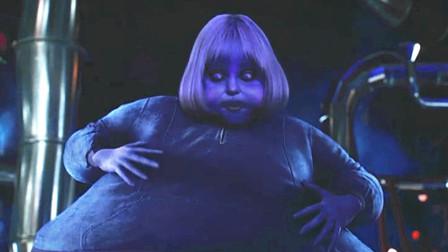 女孩任性不听大人话,吃下神奇口香糖,不曾想最后变成蓝莓巨人!