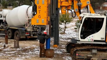 俄罗斯研发新技术,为了提高承载力,浇筑混凝土桩还要放电爆破?