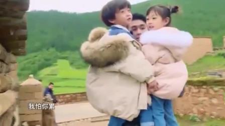 爸爸6:新任奶爸何猷君,一人抱俩娃毫不费力,奚梦瑶不担心啦!