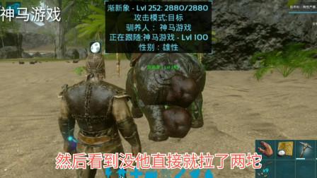 方舟手游驯龙系列6:佛系玩家必备恐龙,渐新象做化肥的好帮手