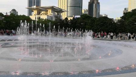 人民广场音乐喷泉