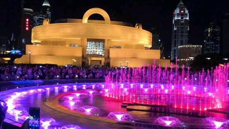 人民广场灯光音乐喷泉